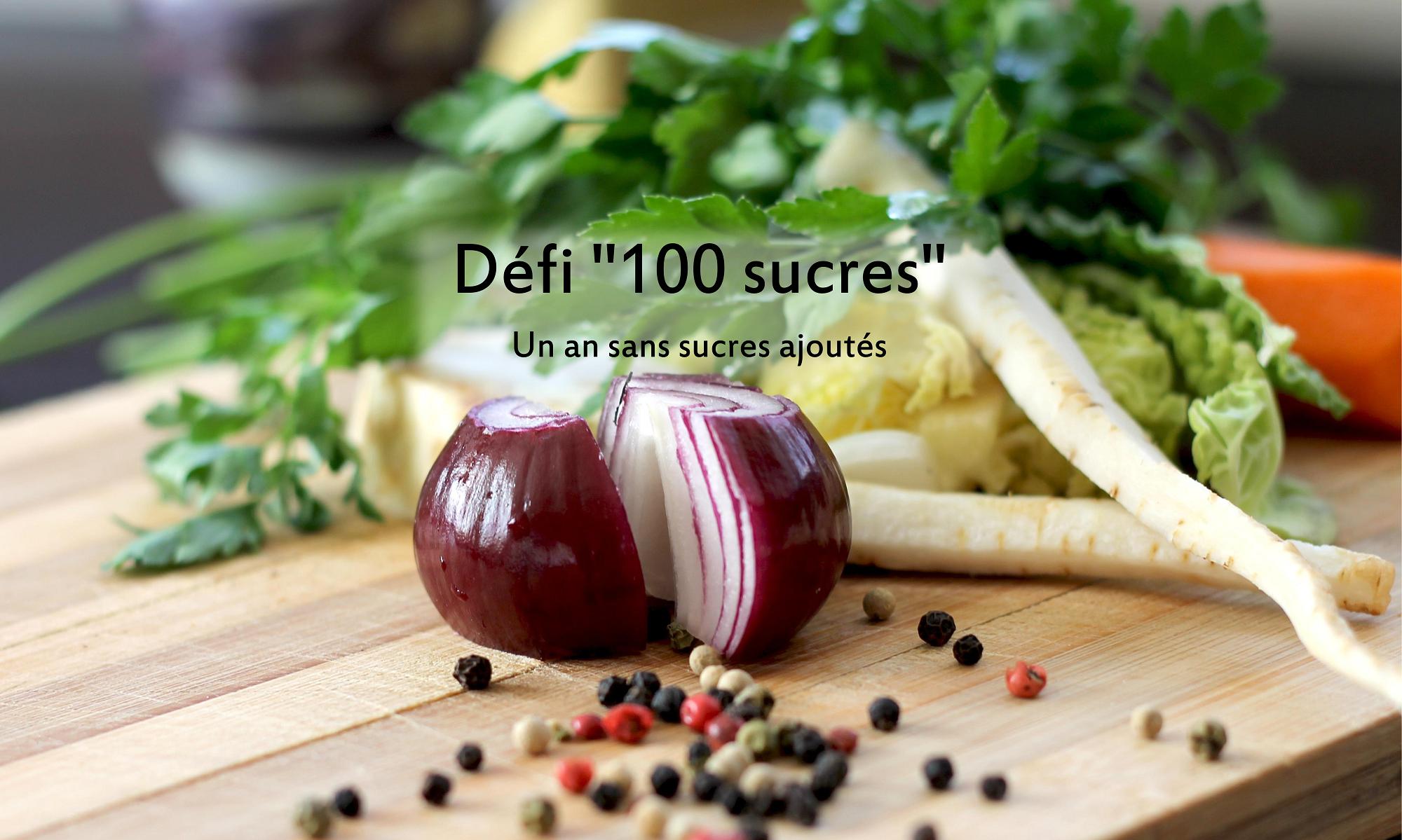 """Défi  """"100 sucres"""""""